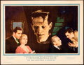 "Movie Posters:Horror, Frankenstein (Universal, 1931). Very Fine. Lobby Card (11"" X 14"").. ..."