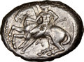Ancients:Greek, CILICIA. Celenderis. Ca. 425-350 BC. AR stater (22mm, 6h)....