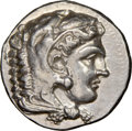 Ancients:Greek, Ancients: MACEDONIAN KINGDOM. Alexander III the Great (336-323 BC). AR tetradrachm (26mm, 17.12, 6h). NGC AU 5/5 - 3/5...