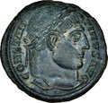 Ancients:Roman Imperial, Constantine I the Great (AD 307-337). AE3 or BI nummus (19...