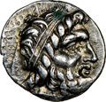 Ancients:Greek, CRETE. Gortyna. Ca. early-1st century BC. AR drachm (17mm,...