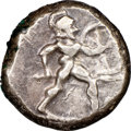 Ancients:Greek, PAMPHYLIA. Aspendus. Ca. mid-5th century BC. AR stater (19...