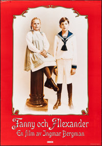 """Fanny and Alexander (Sandrews Film, 1982). Rolled, Very Fine-. Swedish One Sheet (27.5"""" X 39.25""""). Foreign..."""
