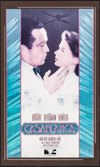 "Casablanca & Other Lot (20th Century Fox, R-1981). Very Good/Fine on Board. Video Posters (3) (10"" X 20&quo..."