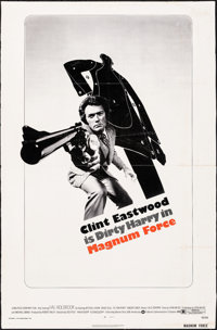 "Magnum Force (Warner Brothers, 1973). Very Good/Fine on Board. One Sheet (27"" X 41""). Action"