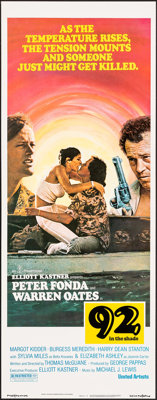 "92 in the Shade & Other Lot (United Artists, 1975). Rolled and Folded, Overall: Very Fine. Insert (14"" X 36..."