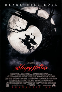 """Sleepy Hollow (Paramount, 1999). Rolled, Very Fine+. One Sheet (26.75"""" X 39.75"""") DS Advance. Fantasy"""