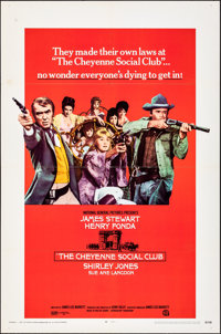 The Cheyenne Social Club & Other Lot (National General, 1970). Folded, Overall: Fine/Very Fine. One Sheets (2) (...
