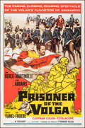 """Movie Posters:Foreign, Prisoner of the Volga & Other Lot (Paramount, 1960). Folded, Overall: Fine/Very Fine. One Sheets (2) (27"""" X 41""""). Foreign.. ... (Total: 2 Items)"""