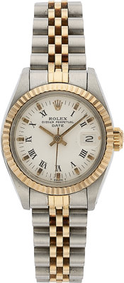 Rolex, Lady's Oyster Perpetual Date, Two Tone, circa 1981