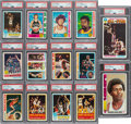 Basketball Cards:Sets, 1973 - 1980 Topps High Grade Basketball Complete Set Run (8). ...