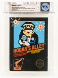 Video Games:Nintendo, Hogan's Alley [Eighth Release] Wata 7.5 CIB NES, Nintendo, 1985, USA....