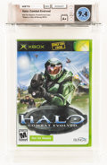 Video Games:Xbox, Halo: Combat Evolved [NFR Not For Resale] Wata 9.4 A+ Sealed Xbox, Microsoft, 2001, USA....