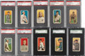 Baseball Cards:Lots, 1909-11 T206 White Border Baseball Collection (392) With Red Cobb....