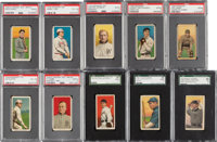 1909-11 T206 White Border Baseball Collection (392) With Red Cobb