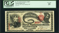 Green Spring, OH - $2 1875 Fr. 391 The First National Bank Ch. # 2037 PCGS Very Fine 25