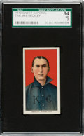 Baseball Cards:Singles (Pre-1930), 1909-11 T206 Sweet Caporal Jake Beckley SGC 84 NM 7 - The Ultimate SGC Graded Example!...