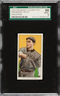 Baseball Cards:Singles (Pre-1930), 1909-11 T206 Piedmont Barney Pelty (Vertical Photo) SGC 88 NM/MT 8....