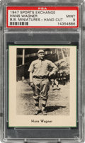 Baseball Cards:Singles (1940-1949), 1947 Sports Exchange Honus Wagner PSA Mint 9 - The Graded PSA Graded Example!...