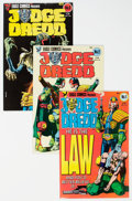 Modern Age (1980-Present):Science Fiction, Judge Dredd Group of 32 (Eagle, 1983-86) Condition: Average VF.... (Total: 32 Comic Books)