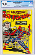 Silver Age (1956-1969):Superhero, The Amazing Spider-Man #25 (Marvel, 1965) CGC VF/NM 9.0 White pages....