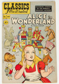 Golden Age (1938-1955):Classics Illustrated, Classics Illustrated #49 Alice in Wonderland - First Edition (Gilberton, 1948) Condition: VF-....