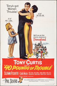 "40 Pounds of Trouble & Other Lot (Universal, 1963). Folded, Overall: Very Fine-. One Sheets (12) (27"" X 41&..."