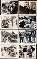 """Movie Posters:Western, Hopalong Rides Again & Other Lot (Western Classics, R-1940s). Very Fine-. Photos (22) (8"""" X 10""""). Western.. ... (Total: 22 Items)"""
