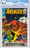 Silver Age (1956-1969):Superhero, The Avengers #23 (Marvel, 1965) CGC NM- 9.2 White pages.