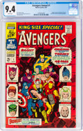 Silver Age (1956-1969):Superhero, The Avengers Annual #1 (Marvel, 1967) CGC NM 9.4 White pag...