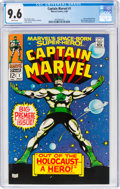Silver Age (1956-1969):Superhero, Captain Marvel #1 (Marvel, 1968) CGC NM+ 9.6 White pages.