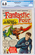Silver Age (1956-1969):Superhero, Fantastic Four #10 (Marvel, 1963) CGC FN 6.0 Off-white to ...