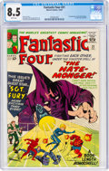 Silver Age (1956-1969):Superhero, Fantastic Four #21 (Marvel, 1963) CGC VF+ 8.5 White pages....