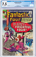 Silver Age (1956-1969):Superhero, Fantastic Four #36 (Marvel, 1965) CGC VF- 7.5 White pages....