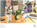 Memorabilia:Print, Toy Story 2 Buzz Lightyear and Rex Limited Edition Gicleé on Paper (Disney/Pixar, 1999).. ...