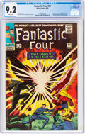 Silver Age (1956-1969):Superhero, Fantastic Four #53 (Marvel, 1966) CGC NM- 9.2 White pages....