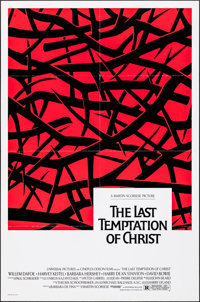 """The Last Temptation of Christ (Universal, 1988). Folded, Very Fine-. One Sheet (27"""" X 41"""") DS. Drama"""