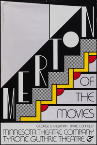 Merton of the Movies by Roy Lichtenstein (Minnesota Theatre Company, 1968). Rolled, Very Fine-. Mylar Theater Poster (20...
