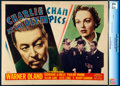 "Movie Posters:Mystery, Charlie Chan at the Olympics (20th Century Fox, 1937). Very Fine. CGC Graded Title Lobby Card (11"" X 14"").. ..."