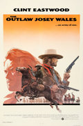 "Movie Posters:Western, The Outlaw Josey Wales (Warner Bros., 1976). Very Fine- on Linen. International One Sheet (27.25"" X 41""). Roy Anderso..."
