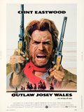 """Movie Posters:Western, The Outlaw Josey Wales (Warner Bros., 1976). Rolled, Very Fine-. Poster (30"""" X 40""""). Roy Anderson Artwork.. ..."""