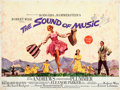 "Movie Posters:Academy Award Winners, The Sound of Music (20th Century Fox, 1965). Folded, Fine. British Quad (30"" X 40"") Roadshow, TODD-AO Version. Howard Terpni..."