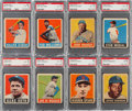 Baseball Cards:Sets, 1948 Leaf Baseball Partial Set (49). ...