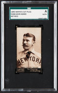 Baseball Cards:Singles (Pre-1930), 1895 N300 Mayo's Cut Plug John Ward (Retired) SGC Authentic....