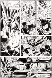 Dave Cockrum and Dan Adkins Brave and the Bold #167 Story Page 2 Batman Original Art (DC, 19
