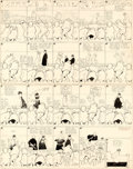 Original Comic Art:Comic Strip Art, Winsor McCay Little Nemo in Slumberland Sunday Comic Strip Original Art dated 1-24-09 (New York Herald, 1909). ...