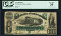 Confederate Notes:1861 Issues, T5 $100 1861 PF-1 Cr. 5 PCGS Very Fine 30.. ...