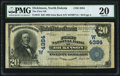 National Bank Notes:North Dakota, Dickinson, ND - $20 1902 Date Back Fr. 645 The First National Bank Ch. # (W)4384 PMG Very Fine 20.. ...