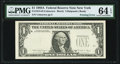 Error Notes:Inking Errors, Fr. 1915-B $1 1988A Federal Reserve Note. PMG Choice Uncirculated 64 EPQ.. ...