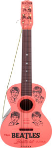 Music Memorabilia:Memorabilia, The Beatles Plastic Guitar by Mastro (USA, 1964). ...